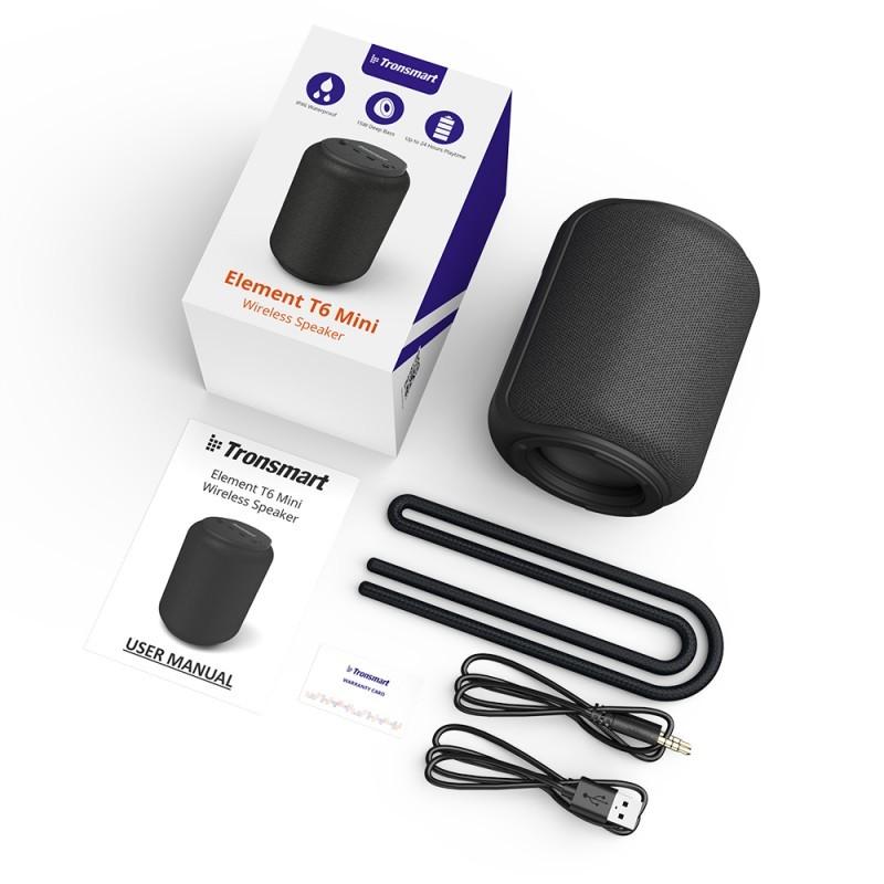 1 Tronsmart Element T6 Mini Bluetooth Wireless Speaker Pakistan brandtech.pk