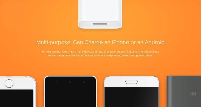 Xiaomi 18W Fast Charger QC 3.0 MDY-08-EH Pakistan brandtech.pk